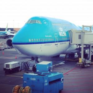 vliegtuig klm