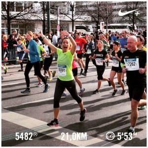 hardlopen halve marathon Berlijn