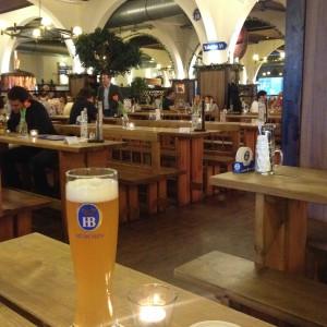 Hofbräu biergarten Berlijn