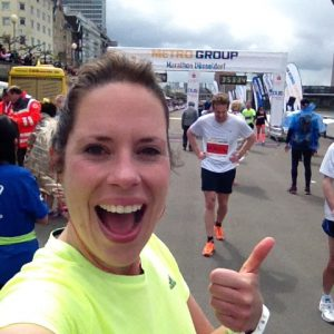 hardlopen marathon Düsseldorf