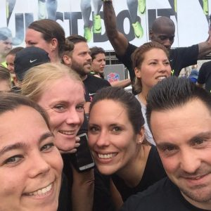Nike run club Amsterdam