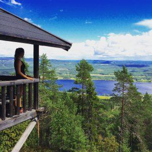 hiken Zweden