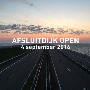 Afsluitdijk open