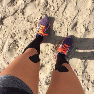 hardlopen sporttape