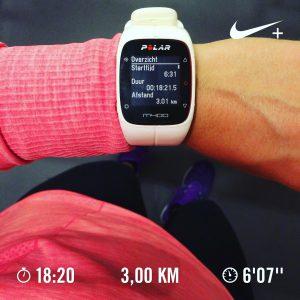 hardlopen Polar M400