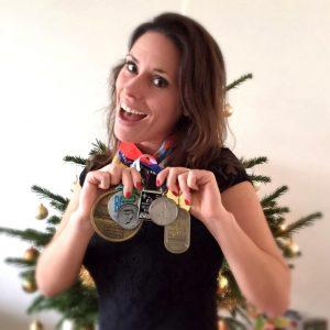 hardlopen medaille