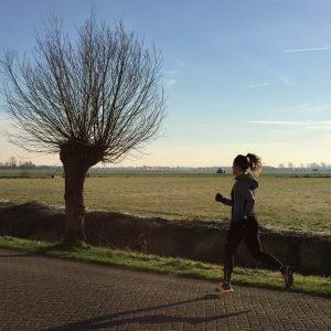 hardlopen sträva